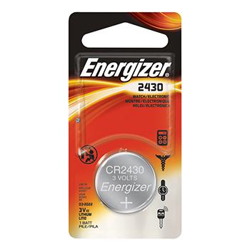 Energizer CR2430, 3V smila.lt