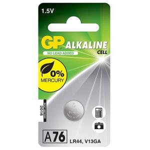 GP A76 LR44, 13GA 1.5v smila.lt