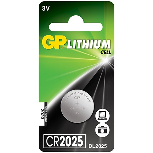 GP CR2025, 3V smila.lt