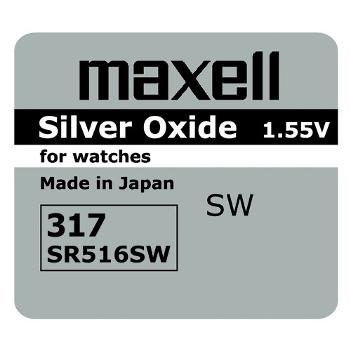 Maxell SR516SW, 1.55V smila.lt
