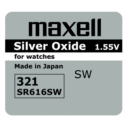 Maxell SR616SW, 1.55V smila.lt