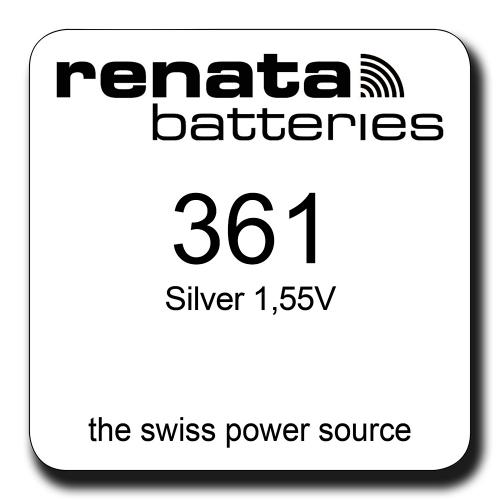 Renata 361 1.55V smila.lt