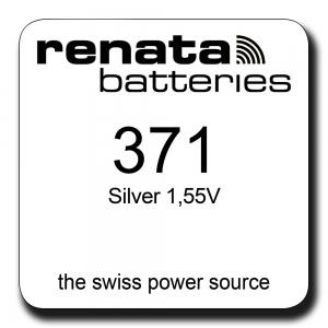 Renata 371 1.55V smila.lt