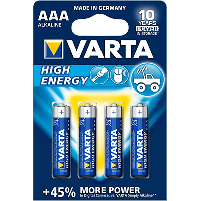 Varta High Energy 4903, AAA, 1,5V