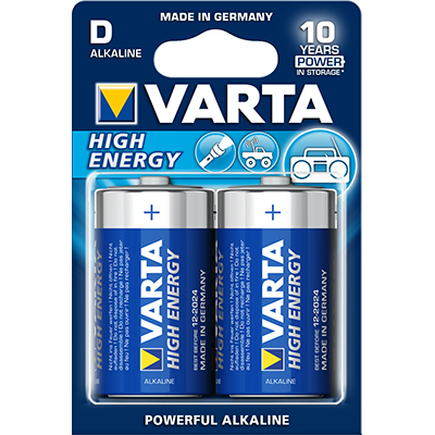 Varta High Energy 4920, 1.5V, LR20, D, MN1300, Mono