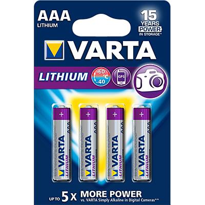 VARTA Profesional Lithium 6103, AAA, 1,5V