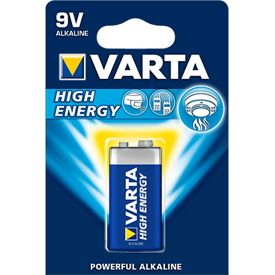 Varta High Energy 4922, 9V, 6LP3146, MN1604, E-Block